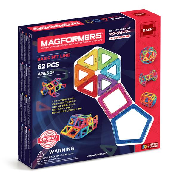マグフォーマーベーシックセット62ピース商品画像
